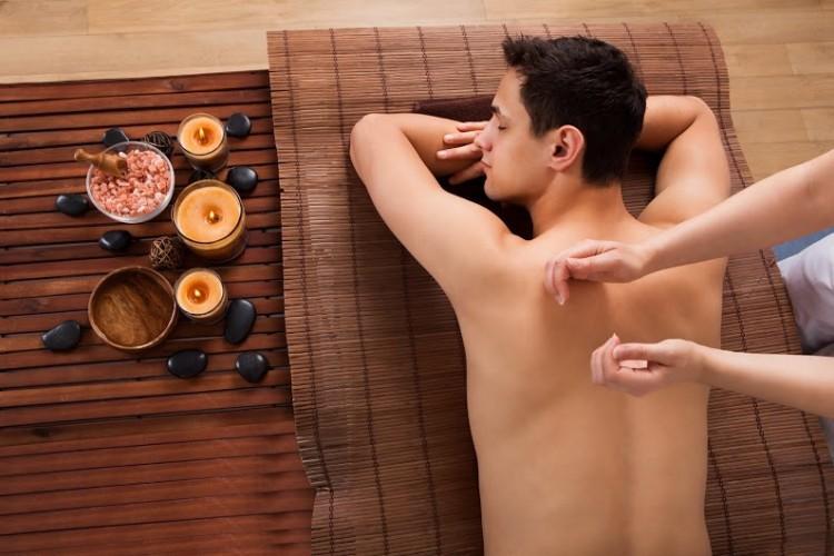 расслабляющий массаж для мужчин